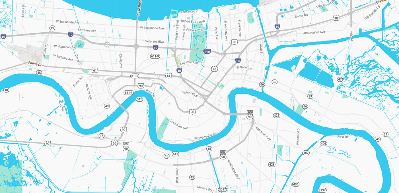 Louisiana Oyster Trail Oysters Local Flavors Art - Map of north louisiana
